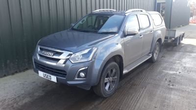 Isuzu D-max 1.9 Utah Double Cab 4x4 Pick Up Diesel Grey at C & O Isuzu Chichester